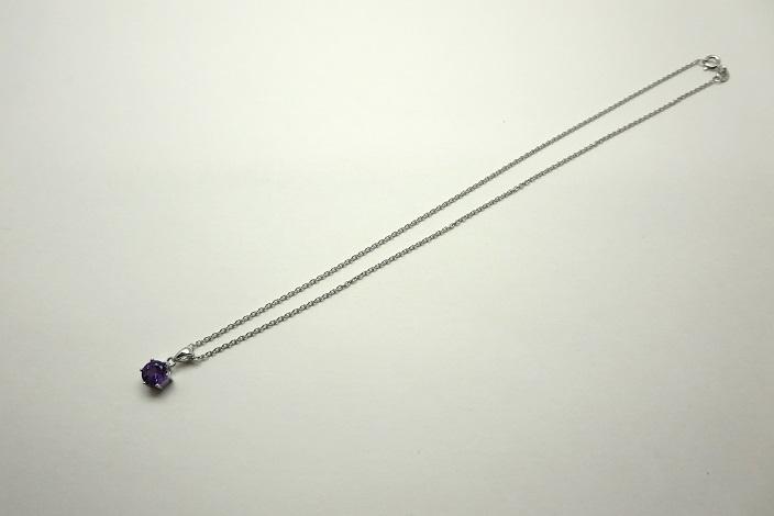 Silver925ネックレスチェーン付き(約38cm)