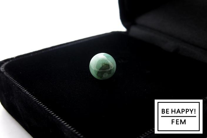 画像2: 【お守りストーン】高品質ブラジル産エメラルド(AAA)8mm