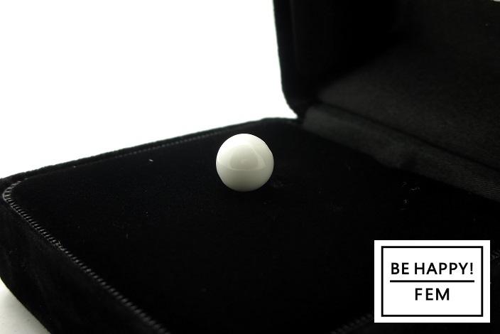 画像2: 【お守りストーン】ホワイトオニキス8mm