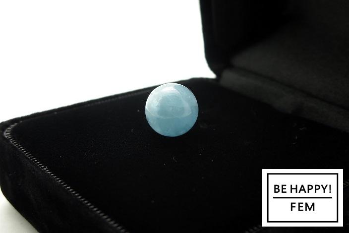 画像2: 【お守りストーン】ブラジル産高品質アクアマリン10mm